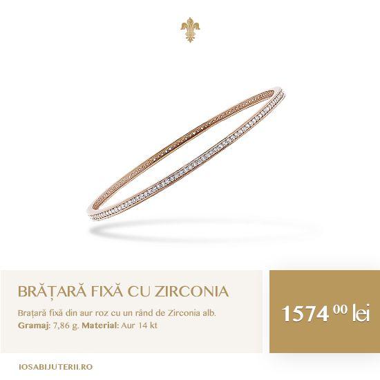O bijuterie de rang nobil. O piesă care te învăluie într-o aură seducătoare de mister și eleganță.    Vezi detalii pe http://www.iosabijuterii.ro/bijuterii/bratara-fixa-cu-zirconia-2/ »