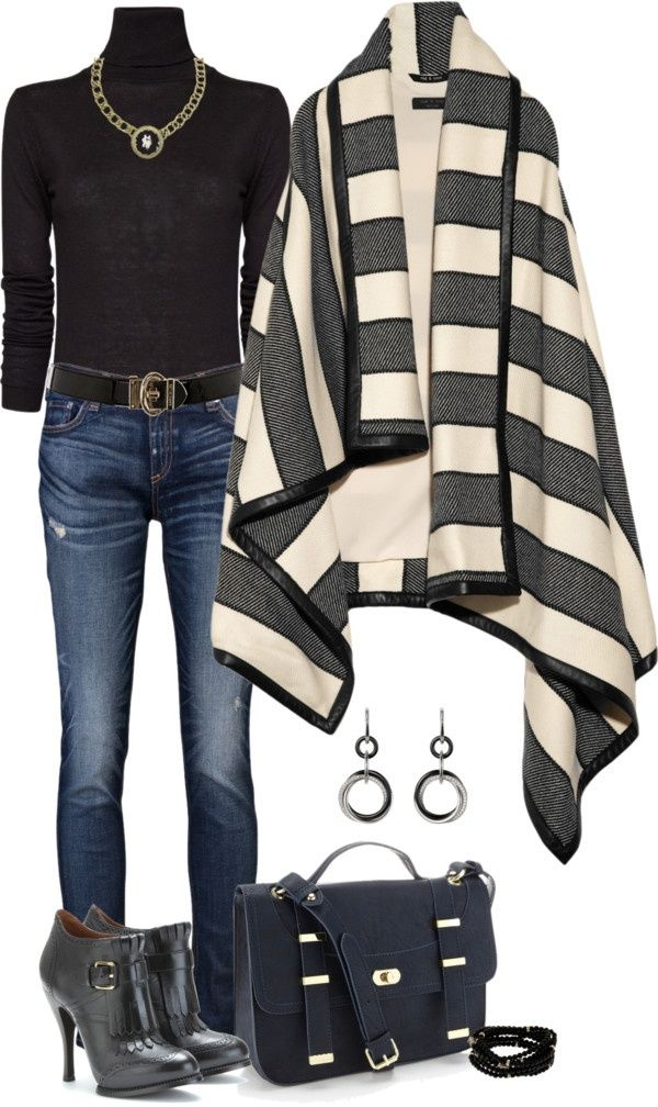 Style for over 35 ~ love the wrap