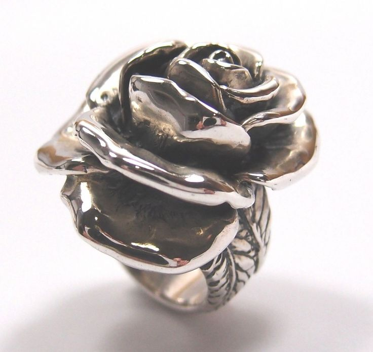 Hanne Andersen Jewellery - Gavan Riley sterling silver Fidelity Rose ring, $420.00 (http://www.hanne.co.nz/rings/dress-rings/gavan-riley-sterling-silver-fidelity-rose-ring/)