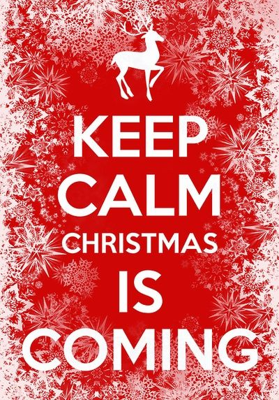 this should say christmas vacation is coming - I'm waiting for that first....