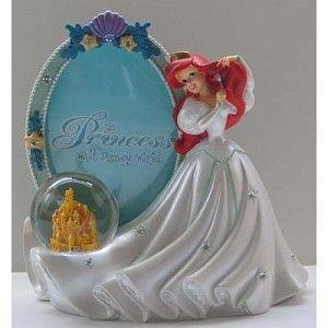 Disney Snow Globe Picture Frame - Ariel