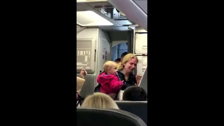 VIDEO: Mother allegedly hit by American Airlines employee on California flight