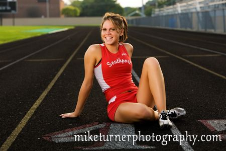 track senior pictures