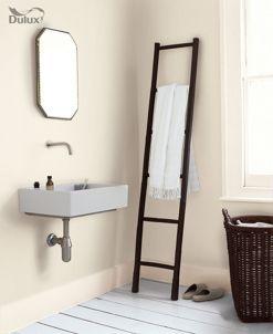 Dulux Bathroom+ Soft Sheen Emulsion Paint Jasmine White 2.5L | Wickes.co.uk