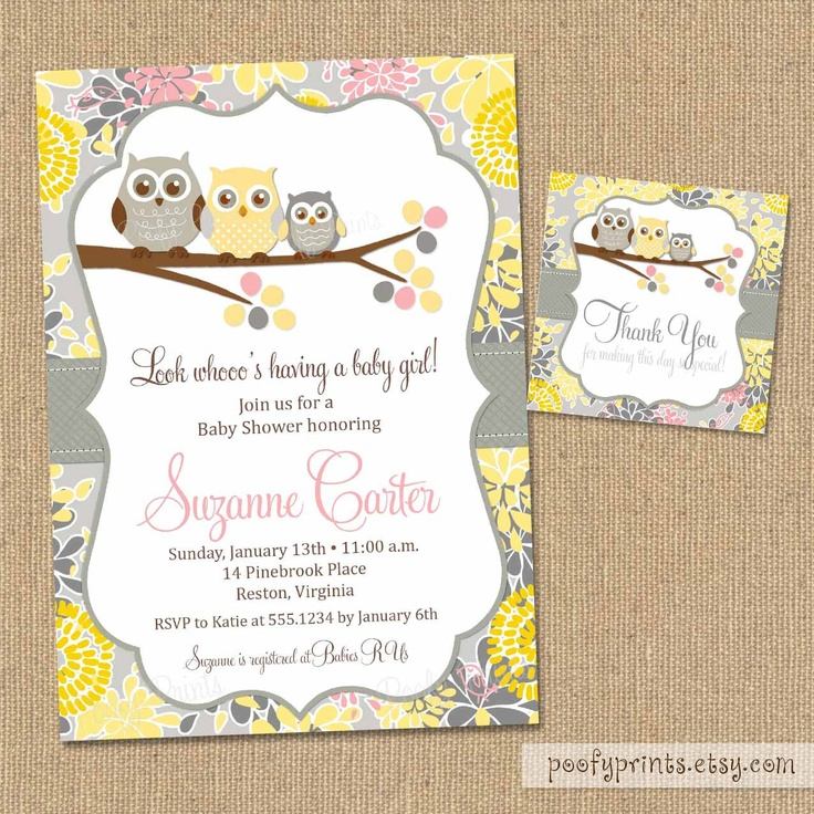Vintage Owl Baby Shower Invitations: 331 Best Baby Shower Images On Pinterest