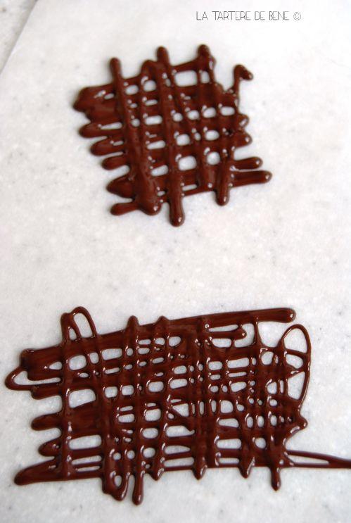 Faire des décors en chocolat