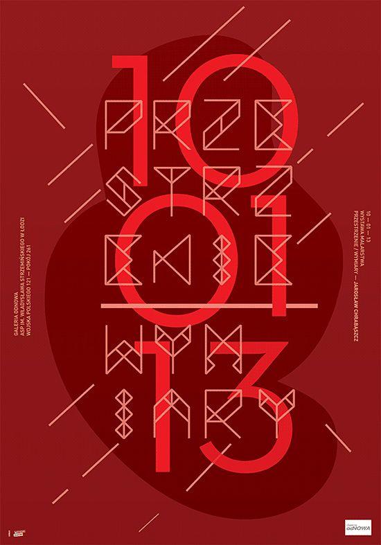New Posters by Krzysztof Iwanski | Inspiration Grid | Design Inspiration