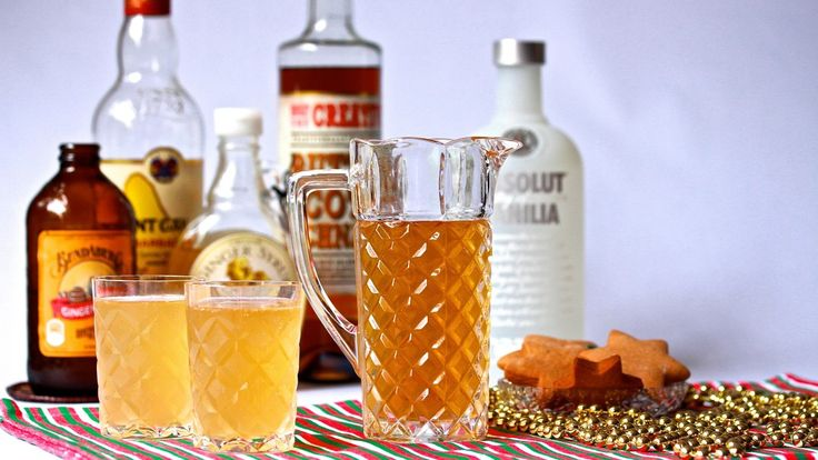THE GINGERBREAD MAN: Nothing says Christmas quite like gingerbread does, but now you can wash down those tasty biscuits with a fiery ginger cocktail. Mixed with vodka, dark rum, ginger syrup, butterscotch schnapps, ginger beer and ginger ale. Recipe on the blog.
