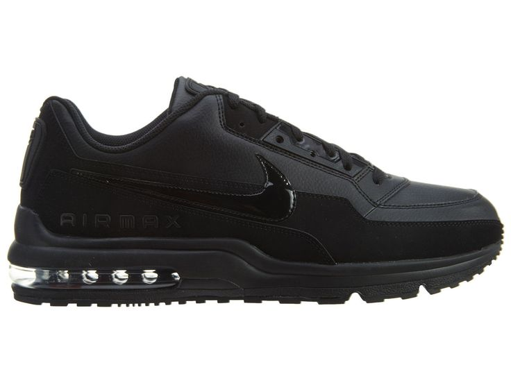1197dc1b6 ... nike air max ltd 3 mens 687977 020 black leather athletic running shoes  size 9 common ...