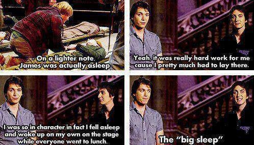 I love James and Oliver Phelps. They're hilarious