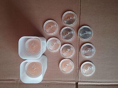 50 Stück Silbermünzen, Känguru je 1 Unze Feinsilber 999.9, Silber, Silberbarrensparen25.com , sparen25.de , sparen25.info