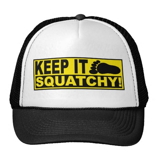 Original   Best-Selling Bobo s KEEP IT SQUATCHY! Trucker Hat ... 176260b97789