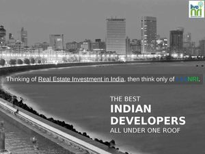 Thinking of real estate investment in India, then think only of LiveNRI. They are the most trusted name for NRI property investment in India.