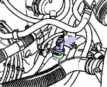 2003 VW Jetta Crank Sensor Diagram