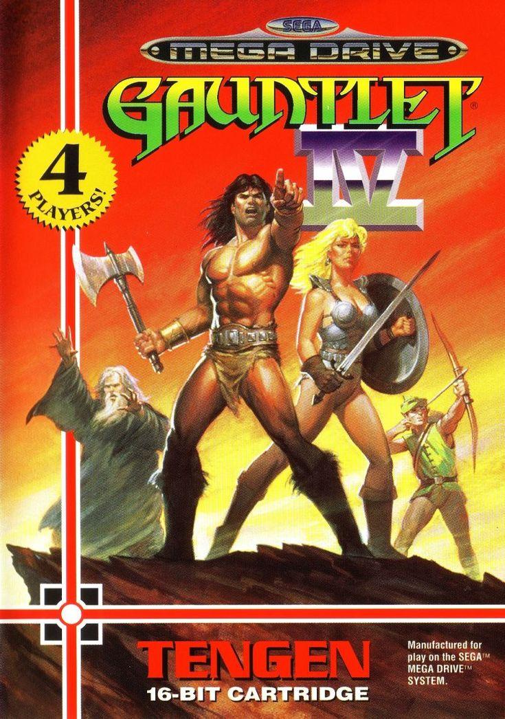 1993's Mega Drive/Genesis exclusive arcade sequel Gauntlet IV