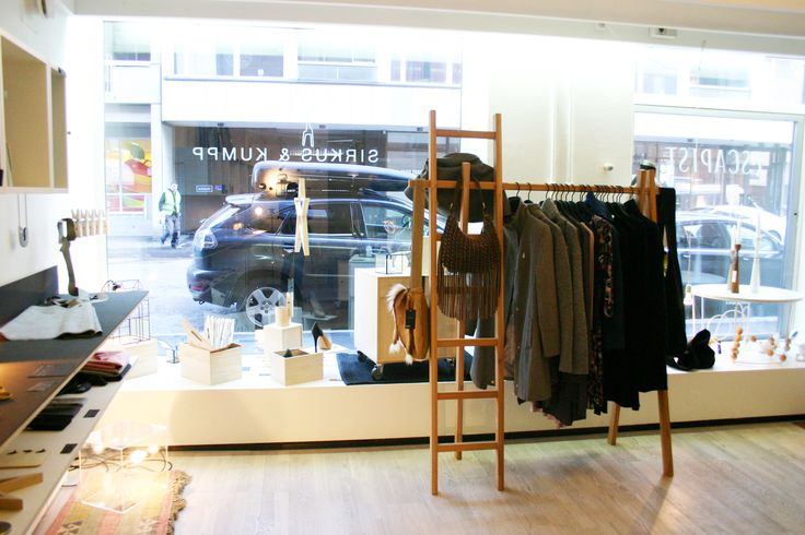 Mekong Hanger by Tb & Ajkay, clothes from Jascha, Chill Norway and Birgitte Herskind. All available from www.escapist.fi