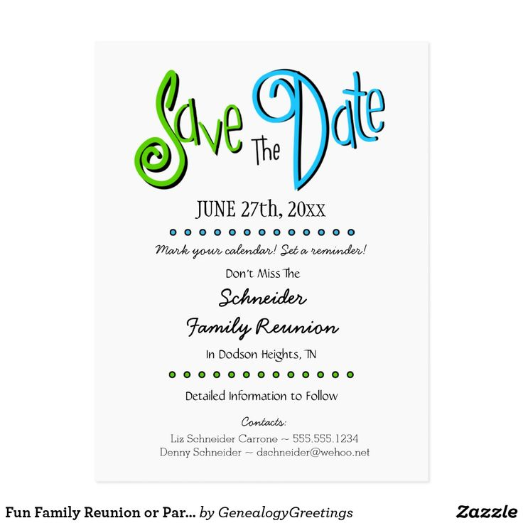 58 best Save the Date! images on Pinterest Crafts, Event decor - class reunion invitation template