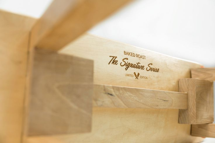 Introducing The Signature Series. Limited edition of our first 40 skateboard benches.