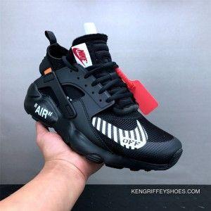 18baa14a994e Men Off White X Nike Air Huarache Running Shoe SKU 47695-246 Free Shipping