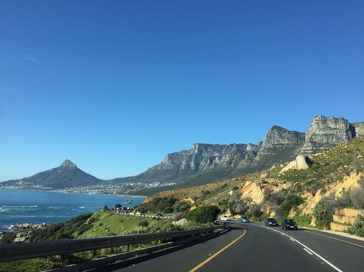 One of the most beautiful coastal drives in the world! #capetown #nofilter #sundayperfection