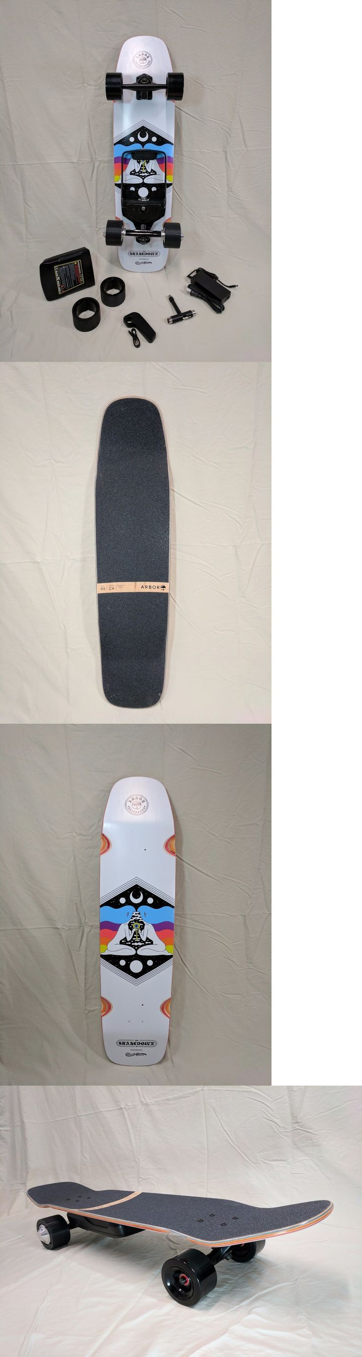 Other Skateboard Parts 159076: Onan X2 Booster Installed On A Arbor Shakedown Crosscut 37 Longboard Deck -> BUY IT NOW ONLY: $989 on eBay!