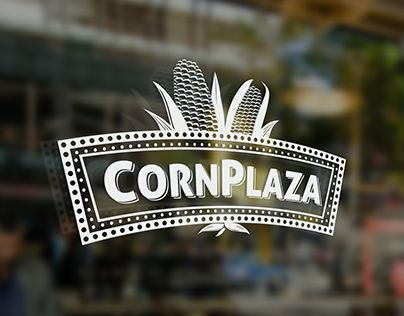 "Logo Design for a restaurant, which aims at providing corn based delicacies. Check out the complete work on my Behance portfolio: ""CornPlaza : Restaurant"" http://be.net/gallery/33454379/CornPlaza-Restaurant"