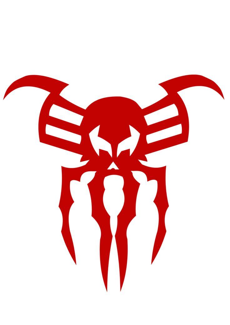 deviantART: Spider-man 2099 symbol by ~KalEl7 | skin ...