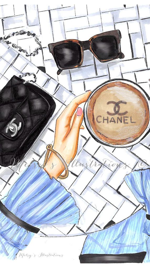 Chanel Table Samsung Galaxy Phone Wallpaper