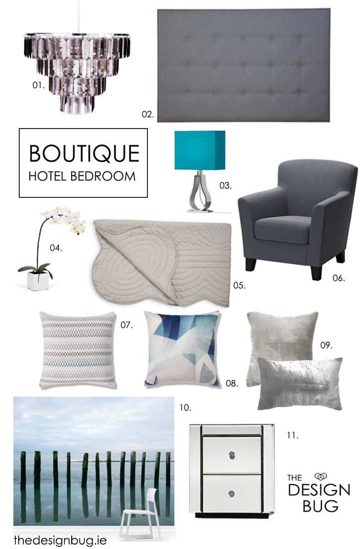 If you've ever been inspired by the interiors of a hotel you've stayed in and wanted to recreate that luxurious look in your home... or you're thinking about making some changes to your current bedroom design and want it to become a more stylish space or a sophisticated sanctuary to retreat then follow a few of these Top Ten tips below to create a hotel-like-haven in your very own home.