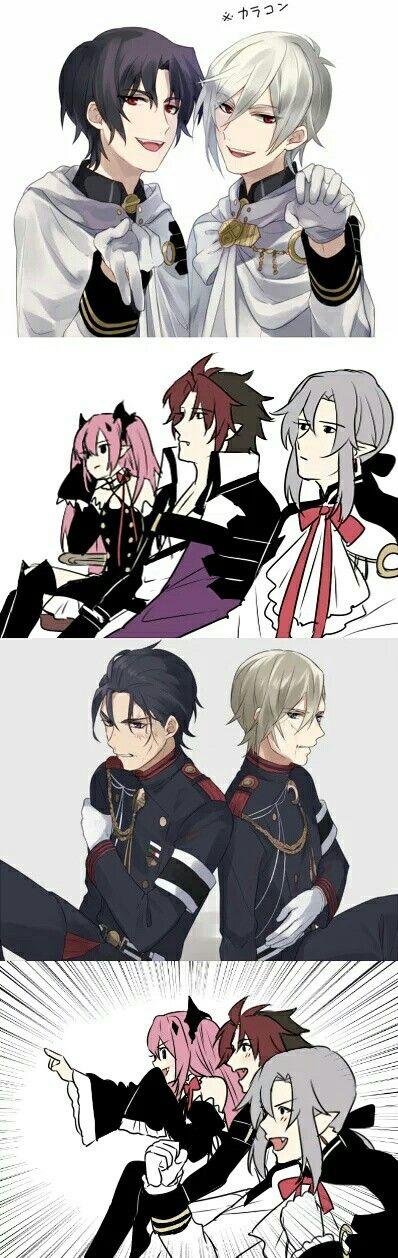 Guren Ichinose | Shinya Hiiragi | GureShin | Owari no Seraph