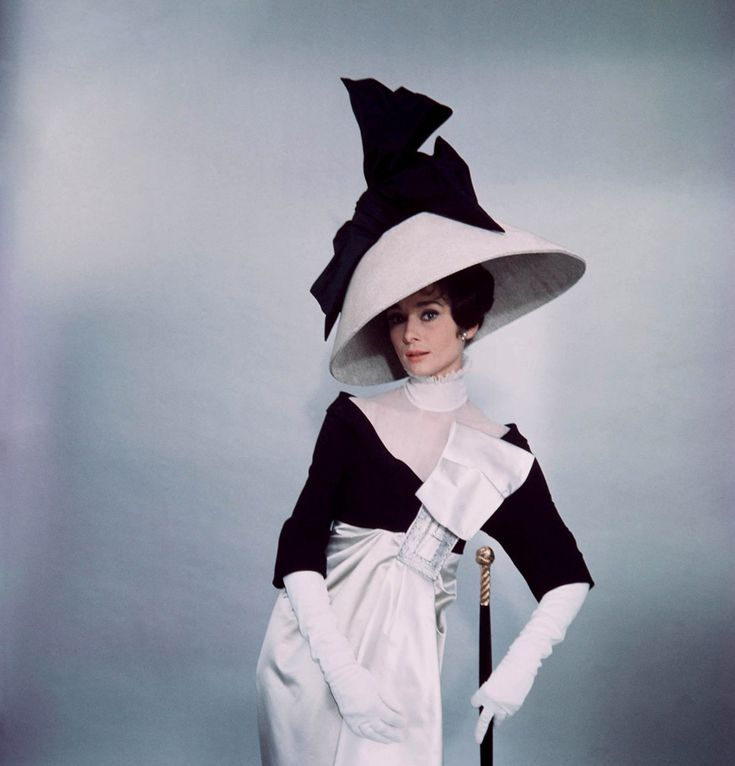My Fair Lady cinema shoot by Cecil Beaton  I just adore monochrome & Audrey just tweaks it to perfection!