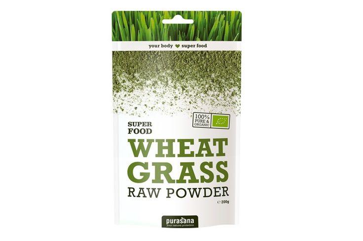 Purasana - młoda pszenica sproszkowana - Źródło antyoksydantów, które wspierają oczyszczanie organizmu ze szkodliwych produktów przemiany materii.    Produkt bogaty w błonnik, potas, kwas foliowy, wapń, witaminy B1 i B5, białko, chlorofil oraz karotenoidy. WHEAT GRASS POWDER
