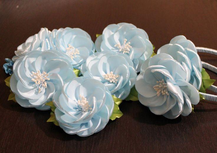 Цветы из Лент Своими Руками |KANZASHI