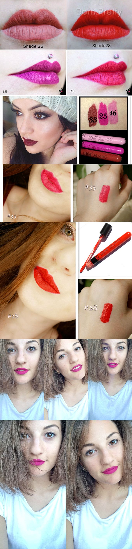 1 PC Rouge À Lèvre LIP Gloss Waterproof MAT Velours Long Lasting LIP Crayons   eBay