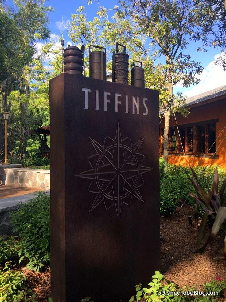 Tiffins Restaurant and Nomad Lounge at Disney's Animal Kingdom! May 28, 2016