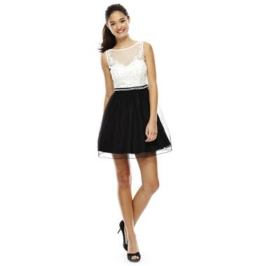 Jcpenney Prom Dresses Black White Fashion Dresses