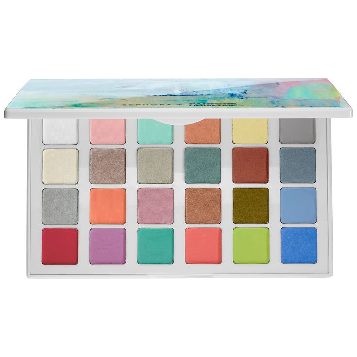 Shop SEPHORA+PANTONE UNIVERSE's Modern Watercolors Eyes Palette at Sephora. This exclusive eye shadow palette includes the two Color of the Year shades.
