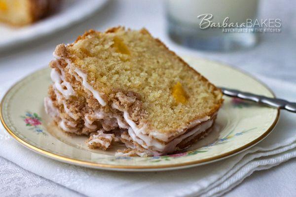 Fresh Peach Coffee Cake   Barbara Bakes