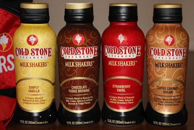 New Cold Stone Creamery Milk Shakers!