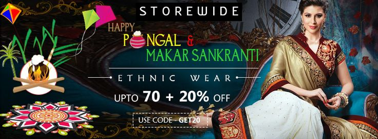 Best Online Offer @Ethnic Wear  bit.ly/1P6Dw6y # sankranti # Pongal