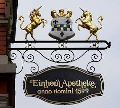 Afbeeldingsresultaat voor einhorn apotheke