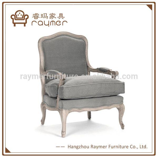antieke franse landelijke stijl donker grijs linnen houten salon fauteuil-afbeelding-houten stoelen-product-ID:60224305326-dutch.alibaba.com