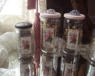Recycled Jar Art