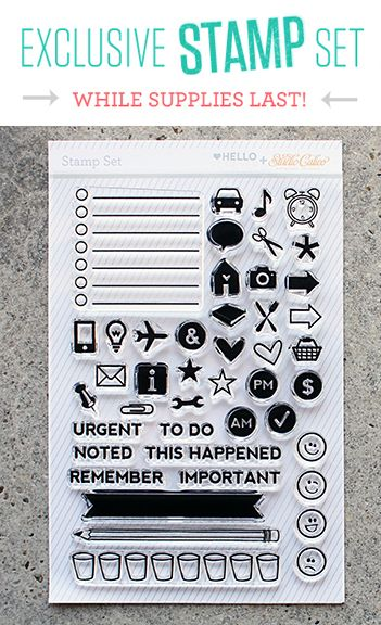 really want this stamp set!