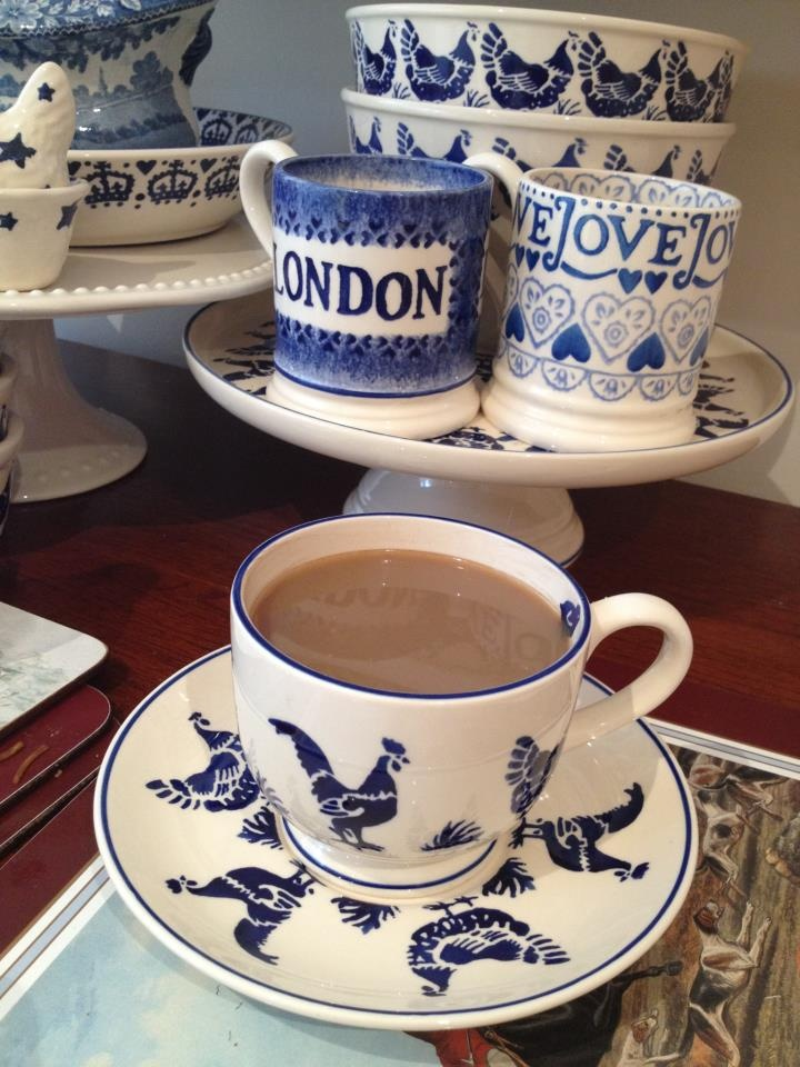 Blue Hen ... Emma Bridgewater pottery!
