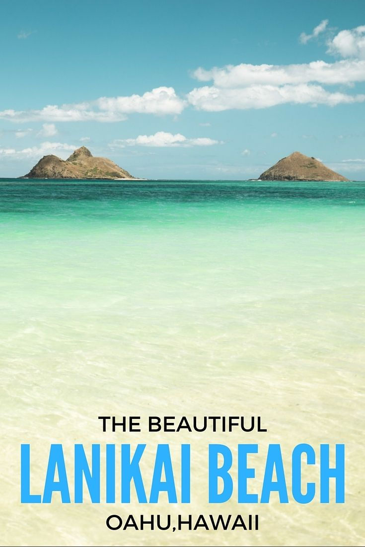 "A ½ mile stretch of beautiful sand and palm trees look out over the crystal clear waters at Lanikai Beach. Two islands called ""Na Mokulua"" less than a mile off-shore create a beautiful paradise atmosphere on what is one of our favorite beaches on Oahu."