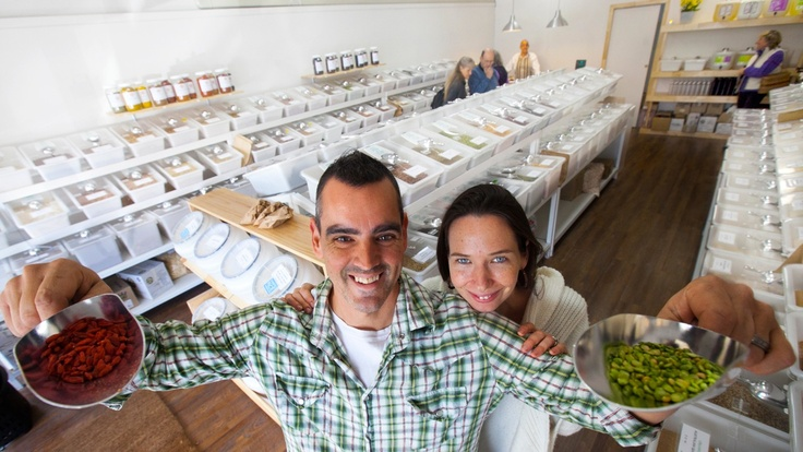 Paul & Emma Medeiros have created quite a buzz after opening the doors of their bulk whole foods store The Source on Darling St to provide locals with a one of a kind, bulk shopping experience.