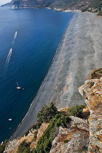 souvenir du Cap, Cap Corse - Plage de Nonza