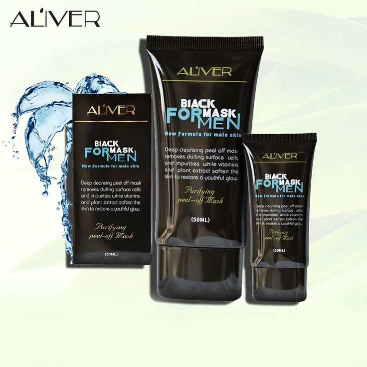 ALIVER Men Peel-off Black Blackhead Spot Acne Remover Clean Sales Online - Tomtop