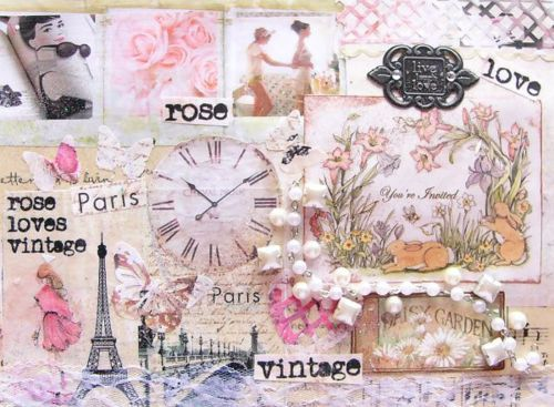 Vintage Girly Collage | www.pixshark.com - Images ...